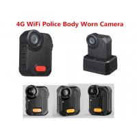 4G WiFi Police Camera 160 Degree Wide Angle 1080P  IP65 Ambarella A12 Police Video Recrder Manufactures