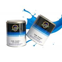 China Assorted Metallic Color 1K Car Paint Water Resistance Acrylic Resin Material on sale