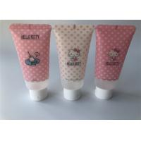 60ml Hand Cream Tube Packaging Hello Kitty 6 Color Offset Printing White Flip Top Cap Manufactures
