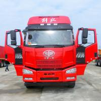 CA5310GYYP63K2L6T4E4 8x4 Tanker Truck / 28000L Oil Delivery Trucks With 4 - 6mm Carbon Steel Material Manufactures