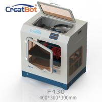 Quality CreatBot F430 Peek High Accuracy 3d Printer 40 - 200mm/S With Dual Extruder for sale