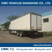CIMC KOGEL 8*4 HINO CHASSIS refrigerated and insulated truck van body HINO box truck Manufactures