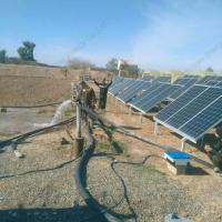 Waterproof 15kW Solar Water Pump Irrigation System With Solar Pump Inverter In Iraq Manufactures