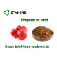 Quality Pomegranate Peel Concentrated Plant Extract Anti Mutagen And Anti Cancer for sale