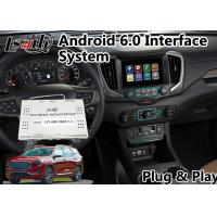 China Android 6.0 Car GPS navigation system for GMC Terrain 2014-2018 Mirrorlink on sale