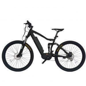 Max Range 50 - 60KM Full Suspension Electric Mountain Bike Wheel Size 27.5 Inch