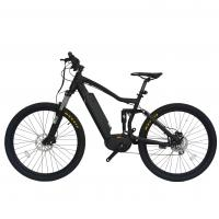 Quality Max Range 50 - 60KM Full Suspension Electric Mountain Bike Wheel Size 27.5 Inch for sale