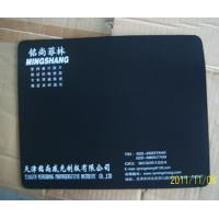 black cloth mouse pad Natural rubber mouse pad printing your Advertising Manufactures