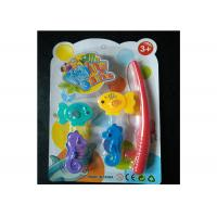 China Kids Magnetic Fishing Game Set With Adorable Sea Horses And Fishing Rod on sale