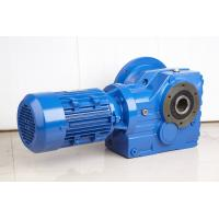 High Efficiency Helical Bevel Geared Motor Hollow Shaft Gearbox With IEC Or NEMA Motor Manufactures