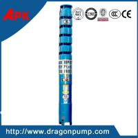 China Multistage high head cast iron irrigation deep well submersible pump on sale