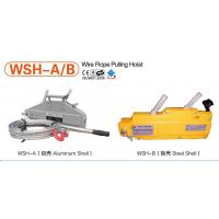 China 0.8 ton wire rope pulling hoist on sale