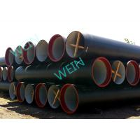 China ISO4179 Cement Lined Ductile Iron Pipe External Zinc and bitumen coating as per ISO8179 on sale