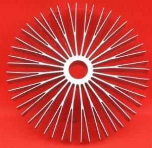 Extruded Heatsink Sunflower Series Big Power Good Dissipation Aluminum Extrusion Heat Sink Manufactures