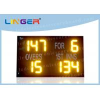 8 Inch 200mm Portable Electronic Scoreboard Cricket With White Stickers Waterproof Manufactures