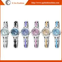 China KM24 6 Colors Full Stainless Steel Bracelet Bangle Watches Quartz Analog Watches for Woman on sale