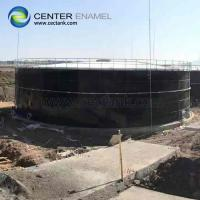 Fabricated Glass Fused Steel Tanks In Customized Sizes For Sewage Treatment Manufactures