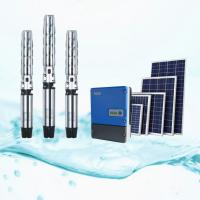 China Waterproof 18.5kW Solar Pump Irrigation System With Solar Pump VFD IP65 on sale