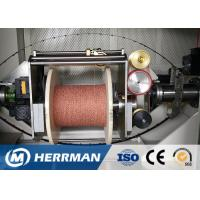 0 ~ 50% Angle Wire Cable Machine Dual Bobbin With Back Twist Double Twist Machine Manufactures