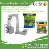 New design green leafy vegetable salad weighting and packaging machine,with vegetable washing and cuttingmachine Manufactures