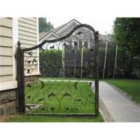 Wrought iron sliding gate Manufactures
