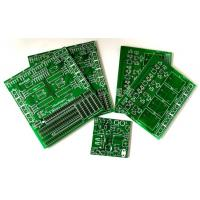 Quality Green 1 Oz Single Sided PCB Board FR4 Copper Clad Plate For Moter Driver for sale