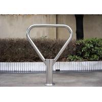 Custom Metal Bicycle Floor Stand , Steel Motorcycle Display Rack Manufactures