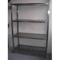 China Durable Stainless Steel Display Racks for Supermarket / store / bakery on sale