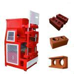 ZS2 -10 Interlock Brick Machine , Automatic Compressed Soil Block Machine Manufactures