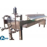 China Automatic Cardboard Filter Press For Paper Plant Wastewater Treatment on sale