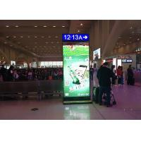 Led Screen Stand Alone Digital Signage Display Advertising P2.5 1800 Nits Brightness Manufactures