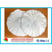 China White Unscented Disposable Rinse Free Shampoo Cap Shampoo Condition Added on sale