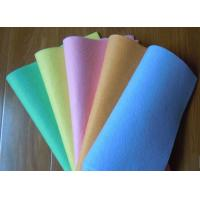 Super water absorbing Needle punched nonwoven cleaning wipes 40*40cm Manufactures