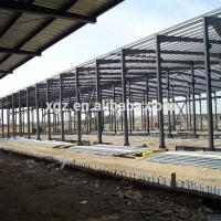 China Low Cost Pre-fabricated Steel Structure Workshop In Sudan on sale