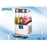 Professional Fast Cooling Double Bowl Slushie Machine With ASPERA Compressor Manufactures