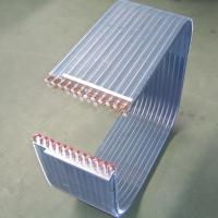 1.9MPa Cold / Hot Water Air Conditioning System Aluminium Fin Copper Tube Heat Exchanger Manufactures