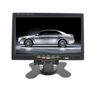 24V Wide Angle Desktop TFT Video Car LCD Monitor With Touch Button Manufactures