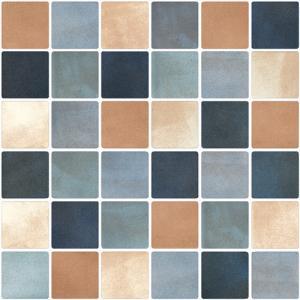 China Antique Mosaic Effect Tiles , Mosaic Shower Floor Tile Fresh Style OEM ODM Service on sale