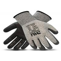 Cut Resistant PU Coated Gloves HPPE Liner XS - XL Size For Industrial Manufactures