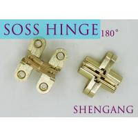"SOSS Mortise Mount Invisible Concealed Door Hinges With 4 Holes 2-3/4"" Leaf Height 5/8"" Leaf Width 23/32"" Manufactures"