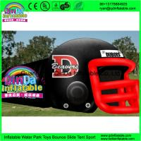 Giant outdoor used inflatable sports tunnel inflatable football helmet tunnel tent Manufactures