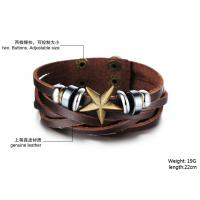 Buy fashion jewelry 2014 New Fashion Leather Bracelets & Bangles BR40 Manufactures