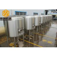 Three Vessels Commercial Beer Making Equipment 40HL 380 V Power Supply Manufactures