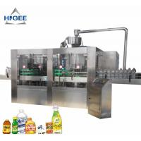 China Automatic Carbonated Beverage Filling Machine / Liquid Filling Machine For PET Bottle on sale