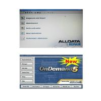 Alldata 10.50 and Mitchell Ondemand5 2 in 1 Automotive Diagnostic Software Manufactures