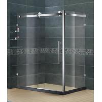 Frameless Stainless Steel Bathroom Shower Enclosures Clear Tempered Glass SGCC Certification Manufactures
