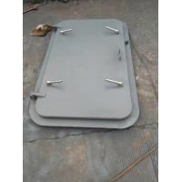 Weathertight Marine Doors Q235 Steel Material With ABS / BV Certification Manufactures