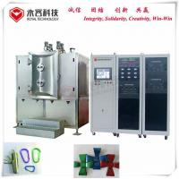 PVD Thin Film Coating Machine For Small Parts Precision Fasteners, SS screws TiN gold and TiC black film coating Manufactures