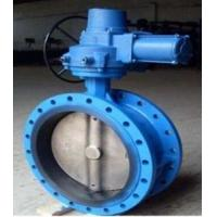 Electric Flanged Butterfly Valves DN450 With Motor 230V 50Hz,A215 WCB,CI Manufactures