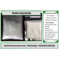 Pharmaceutical Raw Powder Nicotine hydrochloride for skin absorption 2820-51-1 Manufactures